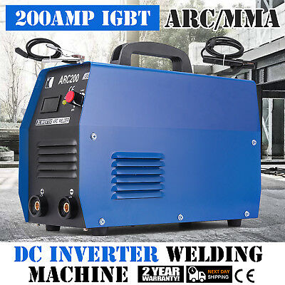 Arc-200 200-amp Stickarcmma Dc Inverter Welder 110230v Dual Voltage Welding