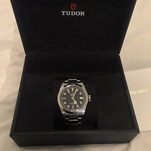 Tudor black bay 41mm watch
