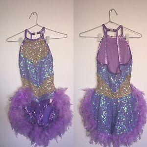Purple Sparkly Dance Costume for Hire Subiaco Subiaco Area Preview