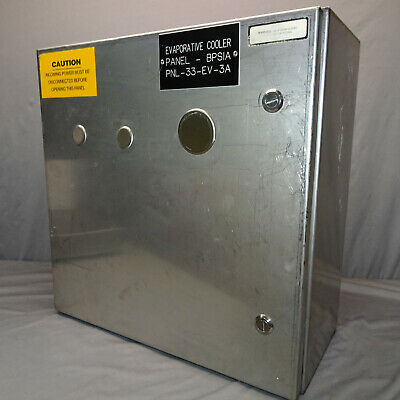 Stainless Steel Electrical Enclosure Type 4x Control Box 20x20x9 Wback Plate