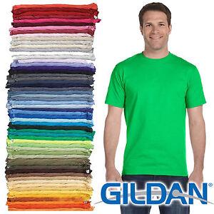 100 gildan t shirt blank bulk lot colors 50 mix match for Plain t shirt wholesale philippines
