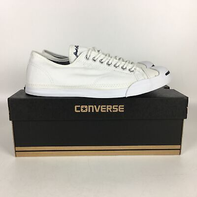 Converse Jack Purcell Shoes Classic Low Top Men's size 9 White 146430C