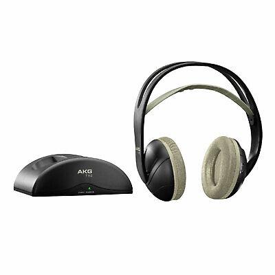 AKG K912 Over-Ear Funkkopfhörer mit Sender-Basisstation Akku Wireless Headphones