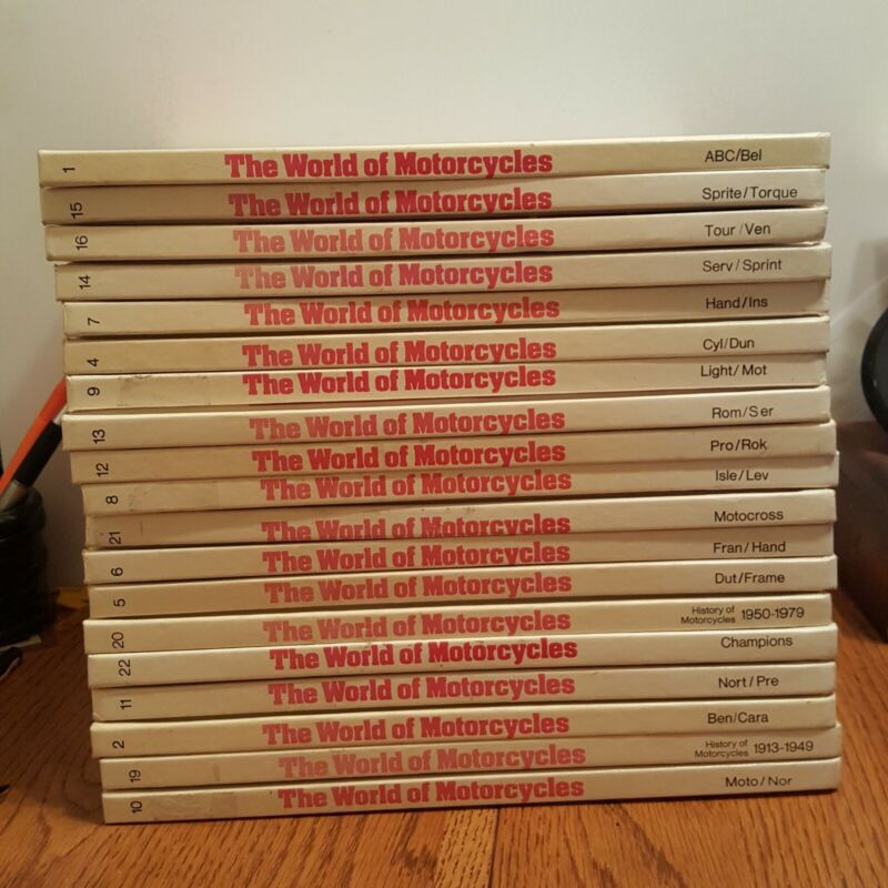 The World of Motorcycles An Illustrated Encyclopedia 19 Of 22 Volume 1977