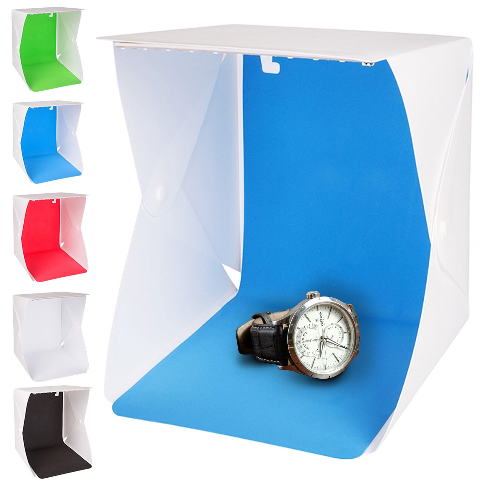 Photo Light Box Portable Small Shooting Tent White Cube Stud