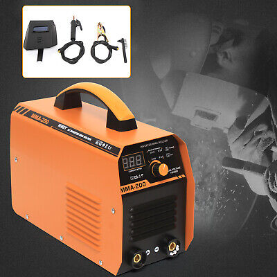 110v 200a Mini Electric Welding Machine Igbt Dc Inverter Arc Mma Small Size