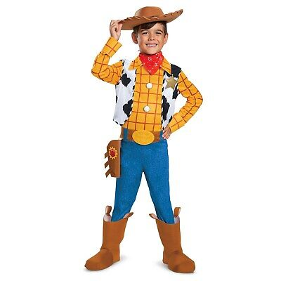 Toy Story 4 - Woody Deluxe Child (Toy Story Woody Deluxe Kostüm)