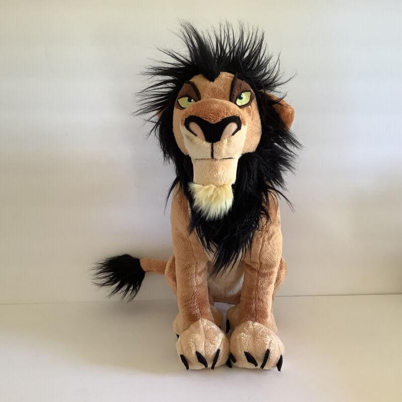 "Disney Parks Store Scar The Lion King 15"" Plush Large"