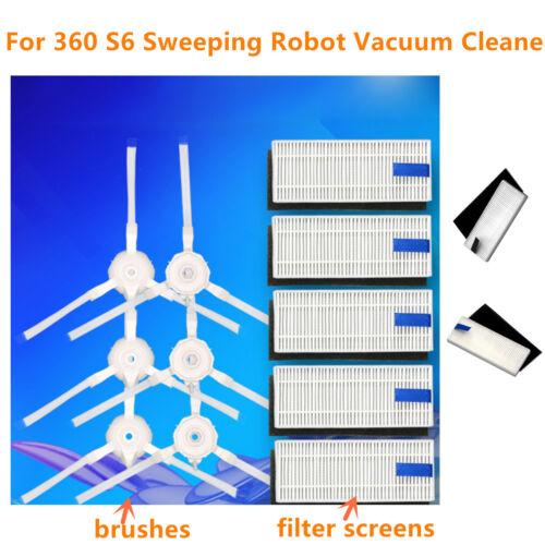 HEPA Filter Ersatz Teile Für 360 S5 S7 Robot Staubsauger Main /& Side Bürste