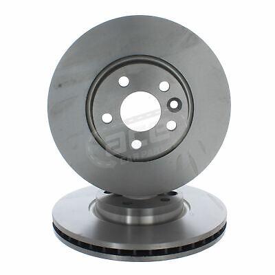 Ford Mondeo Mk4 Estate 6/2007-2010 2.5 Front Vented Brake Discs 300mm 5 Stud