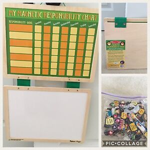 Melissa and Doug magnet chart/white board