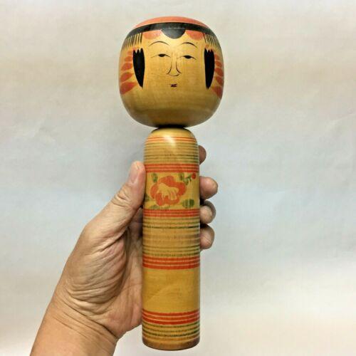 24.6cm 1976 Takahashi-Seiji(1911-1978) beautiful Kokeshi JAPAN Antique No.SI57