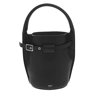 Celine Womens Big Bag Nano Bucket in Smooth Calfskin Black