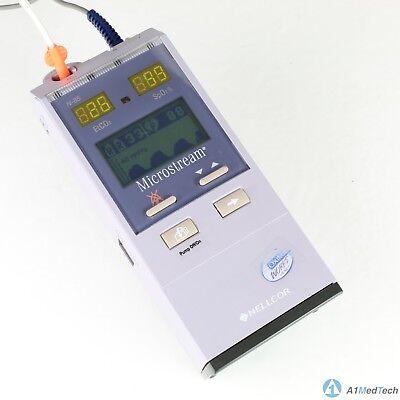 Nellcor N-85 Handheld Capnograph Oximax Spo2 Pulse Oximeter Monitor