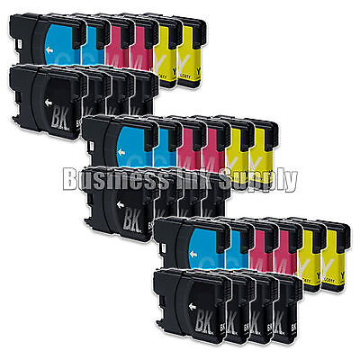 30 Lc61 Ink Cartridges For Brother Mfc-290c Mfc-295cn Mfc...