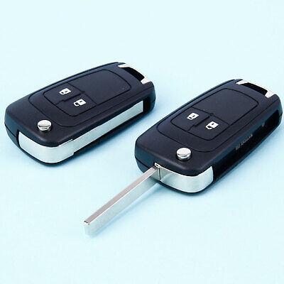 3 Tasten für u.a die Modelle Insignia Klappschlüsselgehäuse für Opel