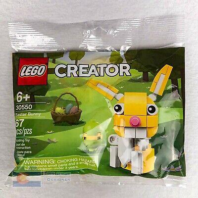Sealed Lego 30550 Easter Bunny Polybag NIP Basket Set Creator Seasonal Rare