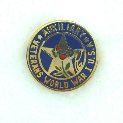 Vintage Veterans of World War 1 USA Auxiliary Lapel Hat Pin