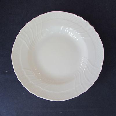 "SET OF FOUR - Richard Ginori BIANCO WHITE VECCHIO 9-1/4"" Large Soup Bowls"