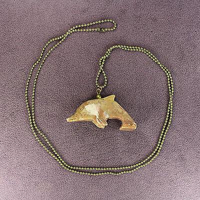 3D BUNNY RABBIT FETISH NECKLACE Soapstone Animal Totem Talisman Charm Amulet