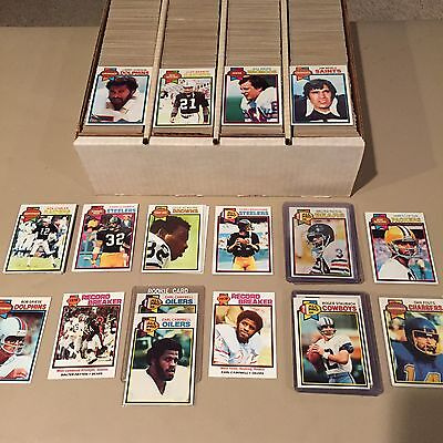 Complete Your 1979 TOPPS FOOTBALL SET EX/EXMT/NRMT/MINT Pick 25 Point LOT