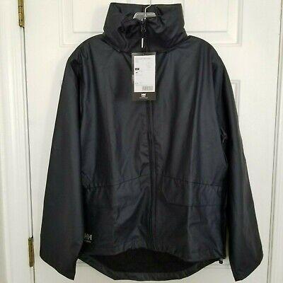NWT HH Helly Hansen Workwear Voss Jacket  Small Navy Waterproof Rain Jacket