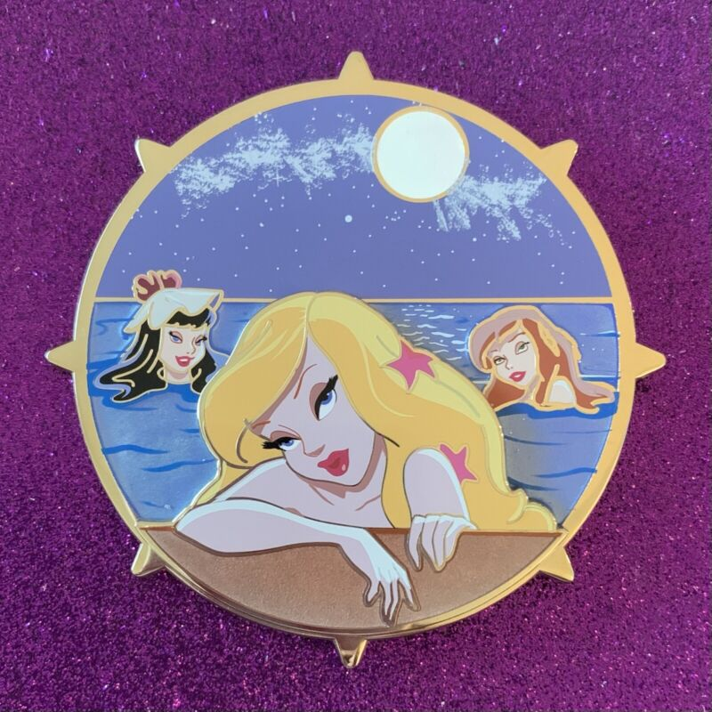 Neverland Lagoon Mermaids x Pirates of the Caribbean Crossover LE Fantasy Pin