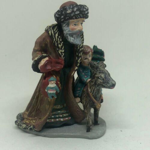 "Royal Duncan ""History of Santa"" Miniature Pewter Figures Bavarian Christmas"