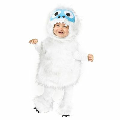 Snow Beastie - Bumble - Abominable Snowman Infant Toddler Yeti Costume