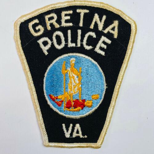 Gretna Police Pittsylvania County Virginia VA Patch (B7)
