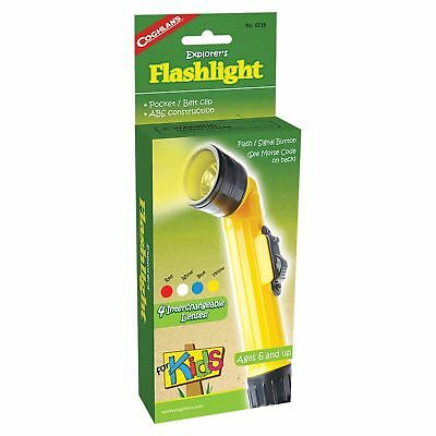 Coghlan's Explorer's Flashlight for Kids Camping Light Lamp Signal Torch Toy