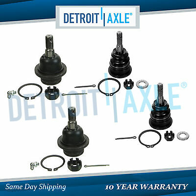 2002 2005 Ford Explorer Mercury Mountaineer All 4 Upper Lower Ball Joints