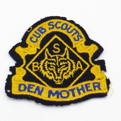 Cub Scout Den Mother Felt Patch Boy Scout BSA