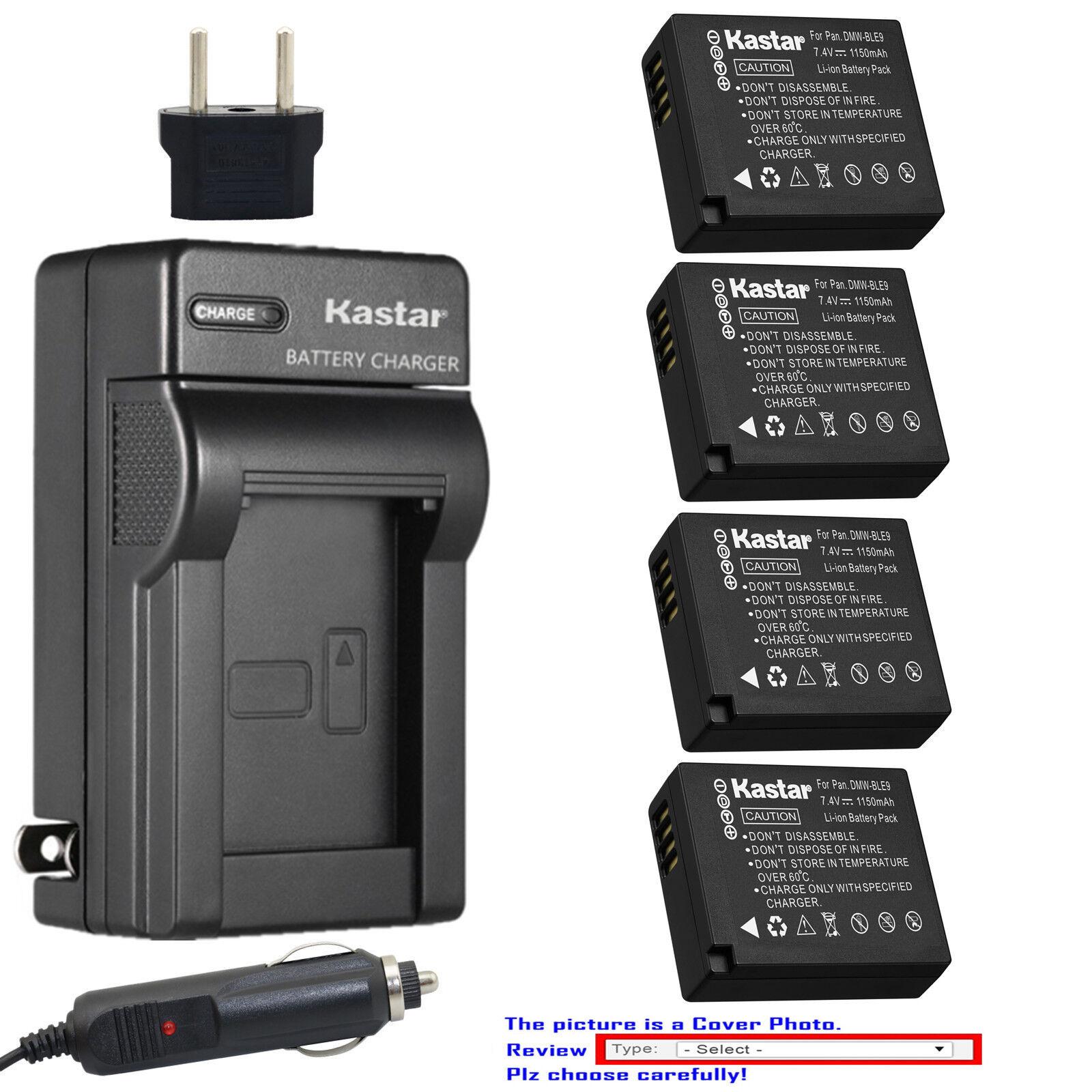 Kastar Battery Travel Charger for Leica BP-DC15 & Leica D-Lu