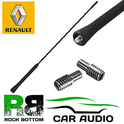 Renault Modus Whip Bee Sting Mast Car Radio Stereo Roof Aerial Antenna