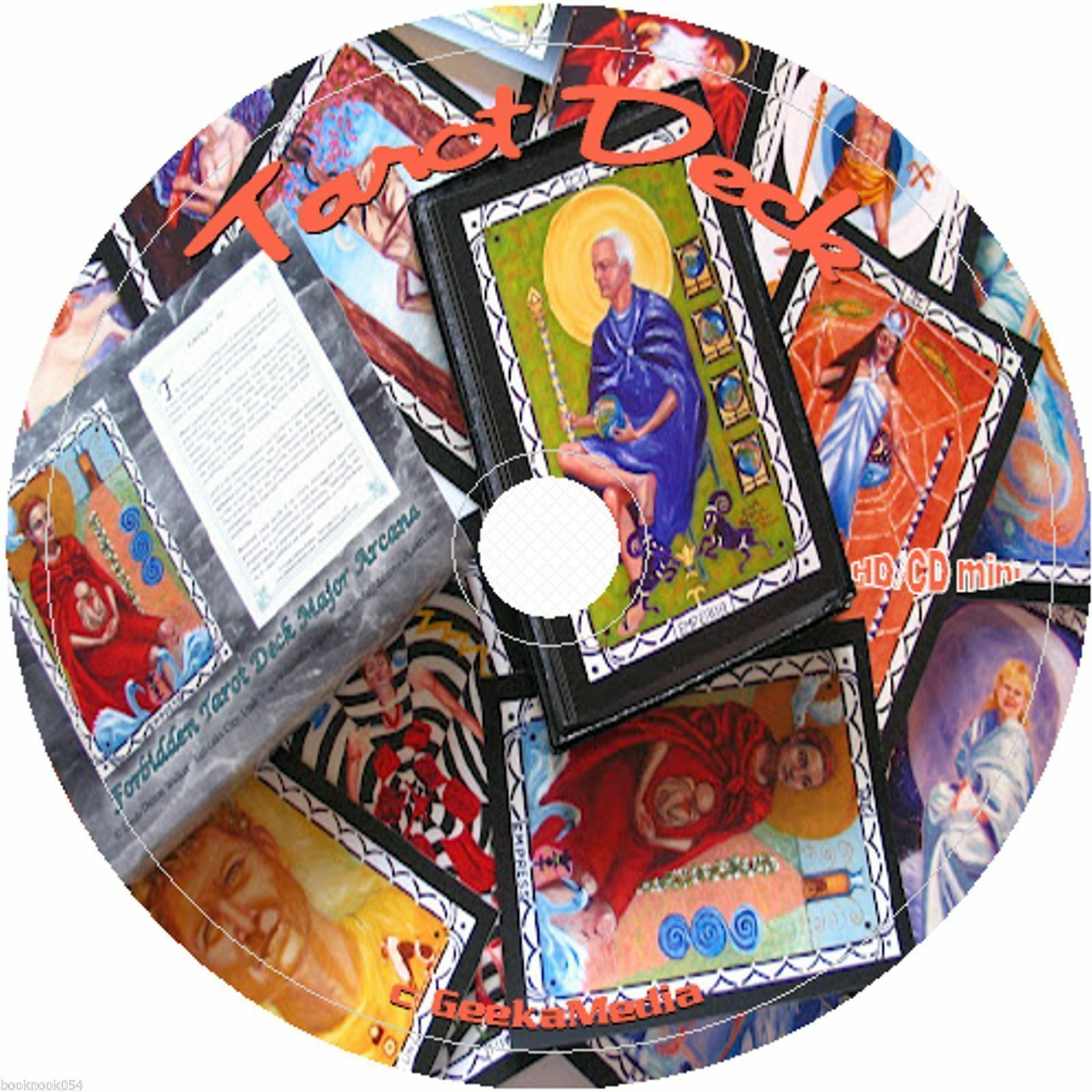 Print Personalize Color and Make Your Own Tarot Decks at Home cd Metaphysical