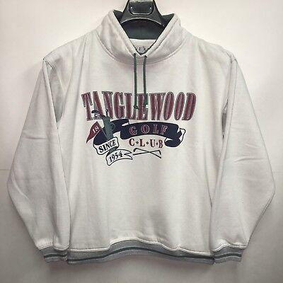 GEAR FOR SPORTS Vintage Pullover Sweatshirt Tanglewood Golf Club 90s Cream M