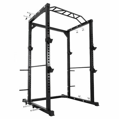 Power Rack Athletics Olympic Squat Cage w/Monkey Bar Attachm