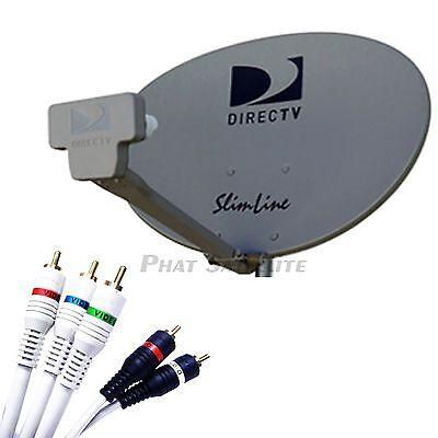 Directv Hdtv Satellite Dish (DIRECTV SMW3 SWiM SL3 HDTV Satellite Dish Kit RV Mobile Portable TAILGATE SWM 3)