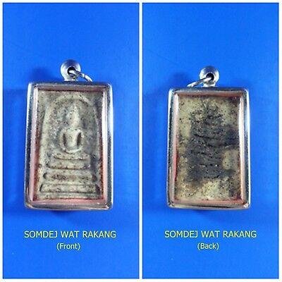 Antique Rare! TOP AMULET of THAILAND (of ASIA) Buddha Statue Pendant ,200Yrs. #5