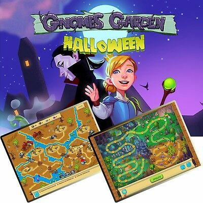 ⭐️ Gnomes Garden Halloween - PC / Windows ⭐️