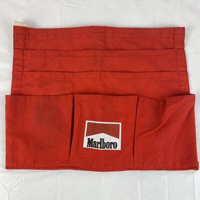 Vintage Marlboro Server Bartender Belt Apron 6 Pocket