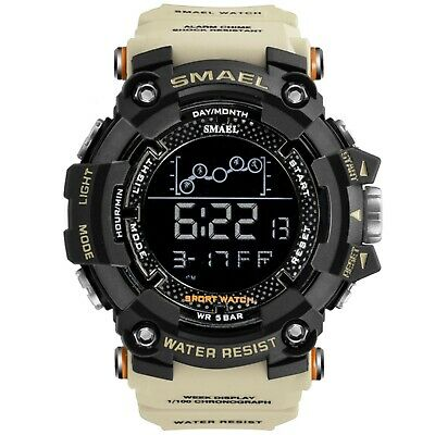 Men's and Women's Military Sport Digital Wrist Watch 1802 SMAEL