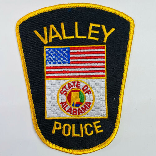Valley Police Chambers County Alabama AL Patch (A1A)