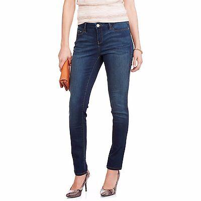 Mid-Rise Super Soft Stretch Denim, Modern Slim Leg Jegging Size: 12 14 16 18 (Denim Mid Rise)