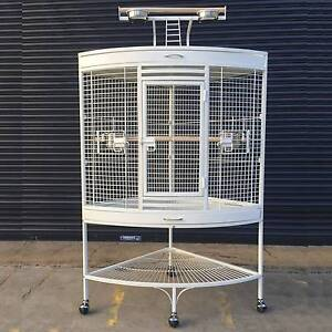 White Corner Parrot Aviary Bird Cage for sale Riverwood Canterbury Area Preview
