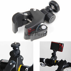 Bike-Motorcycle-Handlebar-Tripod-Mount-Holder-For-GoPro-Camera-1-4-Screw-New