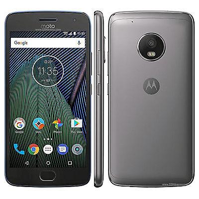 Motorola Moto G5, XT1671, 32GB, Factory Unlocked, NewItem (Lunar Gray)
