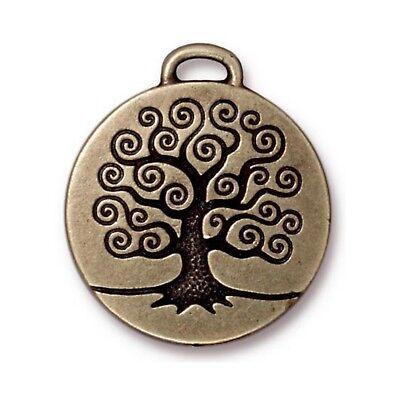 Подвески TierraCast Tree of Life Pendant,