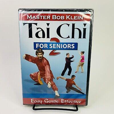 TAI CHI 2 For Seniors DVD Master Bob Klein - Easy Gentle Effective